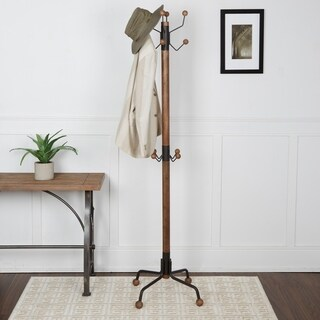 Greta Modern 12-hook Coat Rack