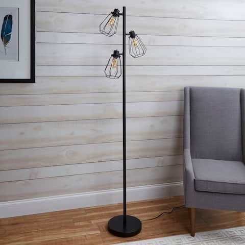 Buy industrial floor lamps online at overstock our best york industrial tree floor lamp aloadofball Choice Image
