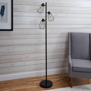 York Industrial Tree Floor Lamp