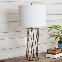 Robin Metal Frame Table Lamp with Shade