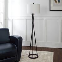 Avri Twisted Metal Floor Lamp
