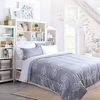 HONEYMOON HOME FASHIONS Comforter Set Lightweight Down Alternative