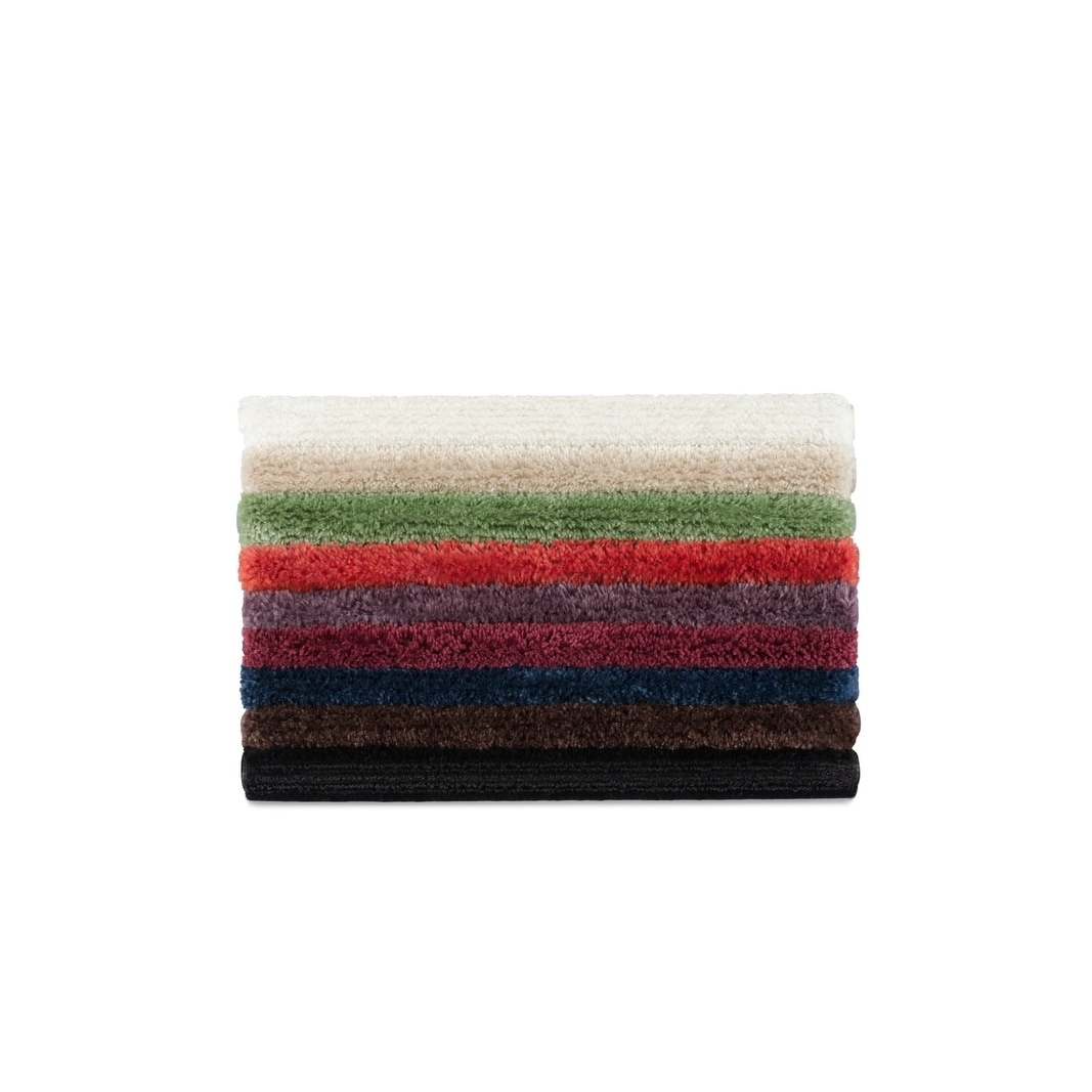 Luxury Nylon 3 Piece Bath Rug Set Ebay