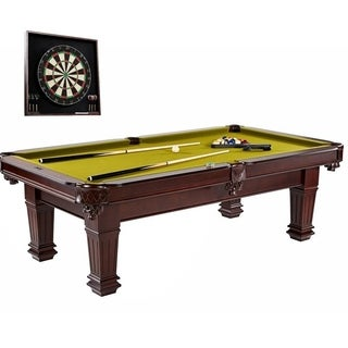 Barrington Hatherley 100 in Billiard Table with Dartboard Cabinet set