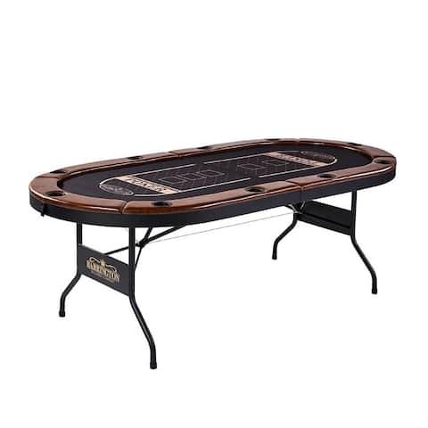 Barrington Premium 10 Player Poker Table