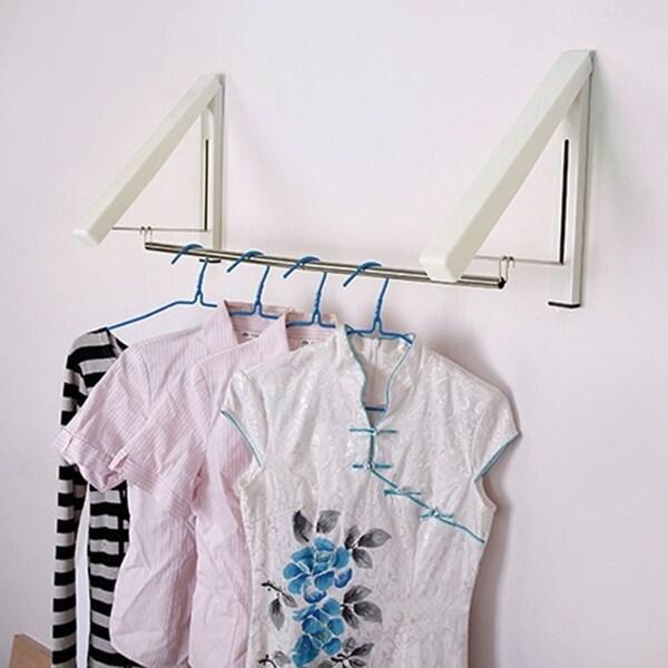 Mini Clothes Hanger Foldable Telescopic Design Clothes Hanger. Opens flyout.