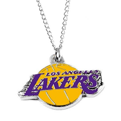 NBA LA Los Angeles Lakers Sports Team Logo Necklace