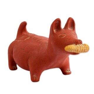 Colima Dog Ceramic Figurine - Mexico