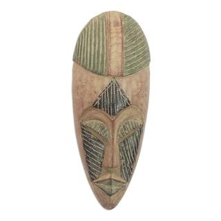 Deliverance Ewe Wood Mask - Ghana