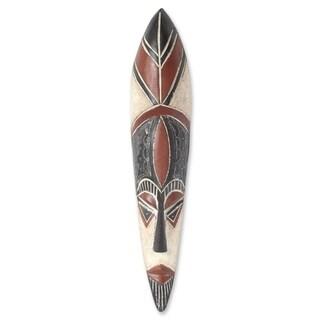 Raboo African Wood Mask - Ghana