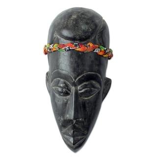 Gentleman Of Ghana African Mask - Ghana
