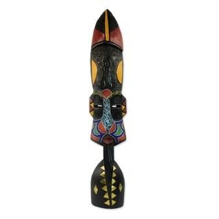 Rana Ta Sa Ii African Wood Mask - Ghana