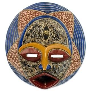 Kafuinam African Wood Mask - Ghana