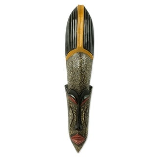 Alhairi African Wood Mask