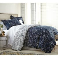 Vilano Choice 3-piece Botanical Garden Printed Reversible  Duvet Cover Set