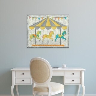 Easy Art Prints Chariklia Zarris's 'Carnival Carousel' Premium Canvas Art