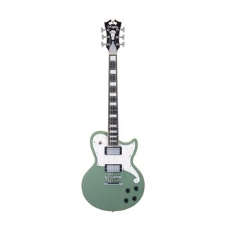 D'Angelico Premier Atlantic Electric Guitar - Army Green