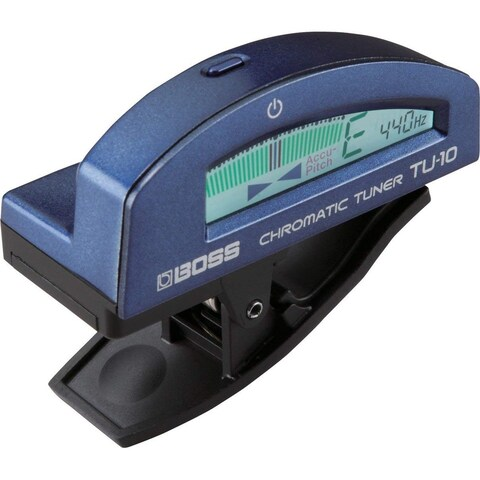 Boss TU-10 Chromatic Tuner - Blue - N/A