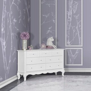 Evolur Aurora 7 Drawer Double Dresser