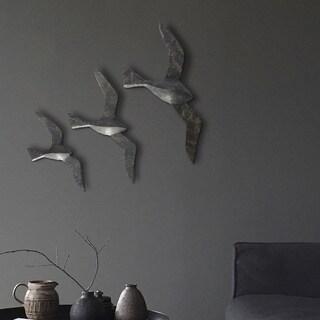 Renwil Flight Irregular Unframed Aluminum Wall Art