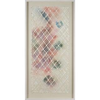 Renwil Venise Rectangular Off-White Framed Paper Wall Art - Green/Multi/Pink