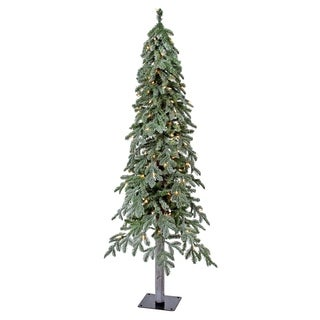 5 Ft Micro LED Winter Frost Alpine Tree