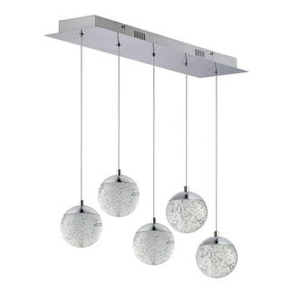 "Link to Orb II 7"" Wide Steel Pendant Similar Items in Pendant Lights"