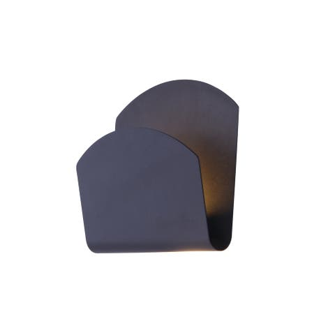 """Alumilux Sconce 9"""" Wide Aluminum Wall Sconce"""
