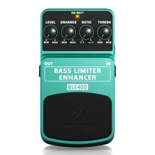 Behringer Bass Limiter Enhancer BLE400 Ultimate Dynamics Effects Pedal - N/A