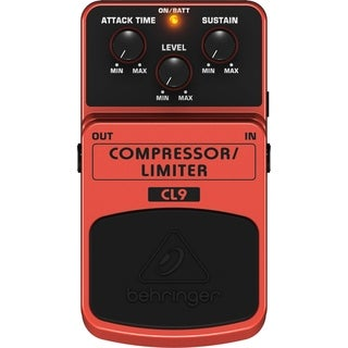Behringer CL9 Classic Compressor/Limiter Effects Pedal - N/A