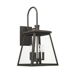 Capital Belmore 4-light Oiled Bronze Outdoor Wall Lantern