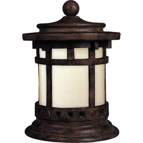 "Santa Barbara 10.5"" Wide Aluminum Outdoor Deck Lantern"