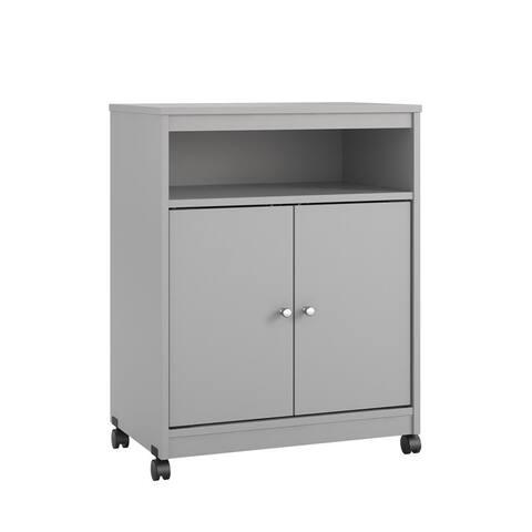 Avenue Greene Aster Dove Grey Medium Microwave Cart