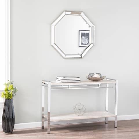 Harper Blvd Niccol Silver Oversized Framed Mirror - matte silver