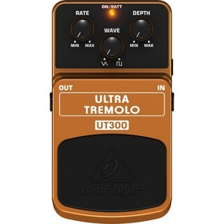 Behringer UT300 Classic Tremolo Effects Pedal - N/A