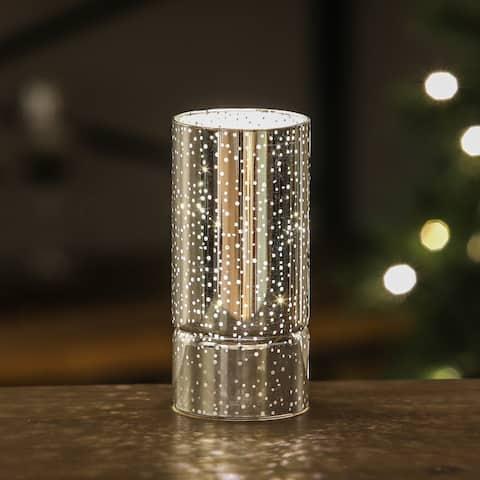 Silver Galaxy LED Lantern