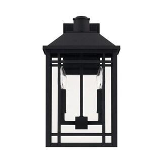 Capital Braden 2-light Black Outdoor Wall Lantern