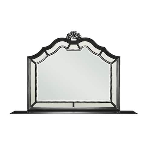 Global Furniture USA Bordeaux Mirror - Black