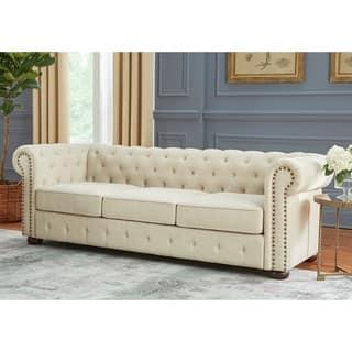 Simple Living Barwick Chesterfield Sofa