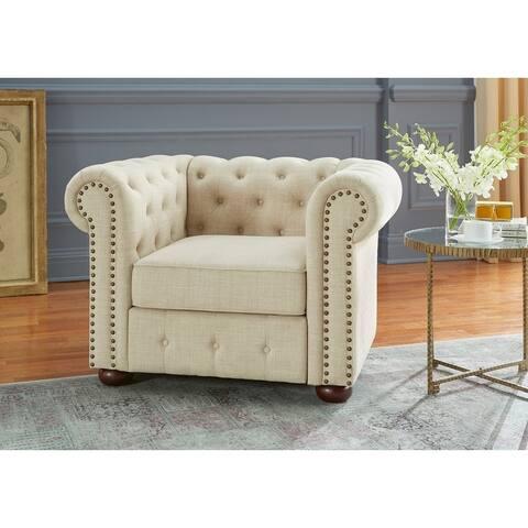 Simple Living Barwick Chesterfield Chair