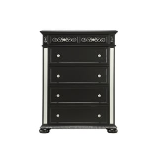 Global Furniture Diana Black Chest