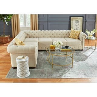 Simple Living Barwick Chesterfield Sectional