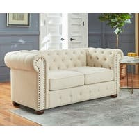 Simple Living Barwick Chesterfield Loveseat