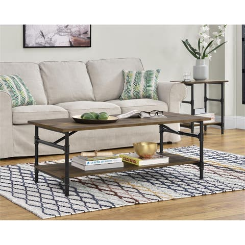 Avenue Greene Dowin Rustic Medium Coffee Table