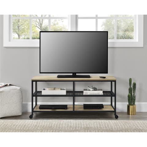 Avenue Greene Trails End Golden Oak TV Stand for TVs up to 55 Inches
