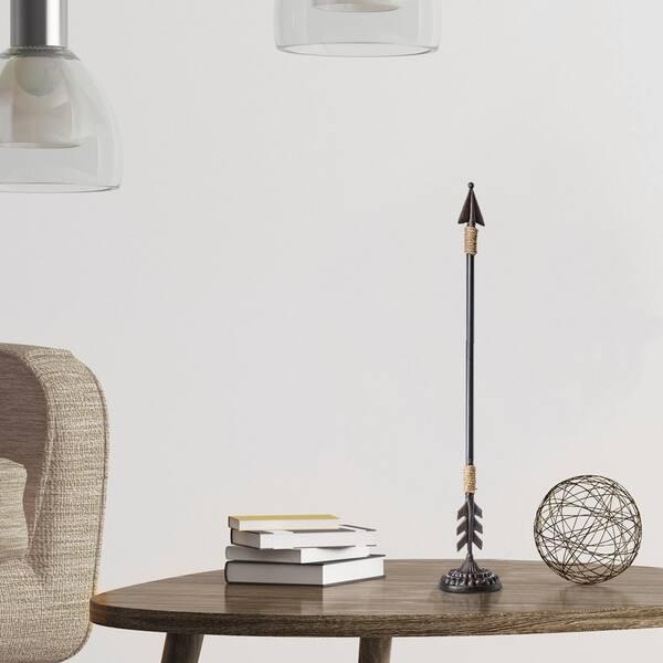 American Art Decor Iron Metal Arrow Tabletop Figurine