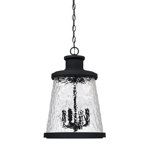 Tory 4-light Black Outdoor Hanging Lantern
