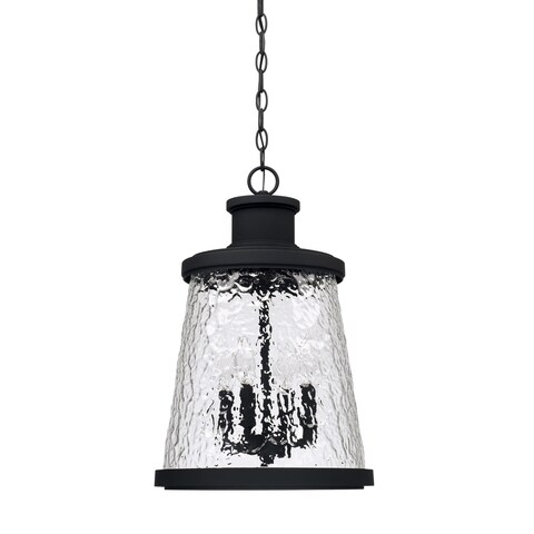 Capital Lighting Tory 4-light Black Outdoor Hanging Lantern