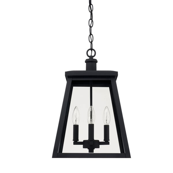 black outdoor lantern lights contemporary capital lighting belmore 4light black outdoor hanging lantern shop
