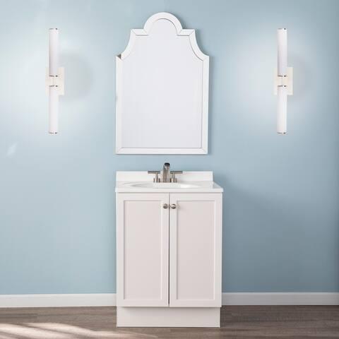Porch & Den Tangela Indoor 2-Light Sconce Vanity Light